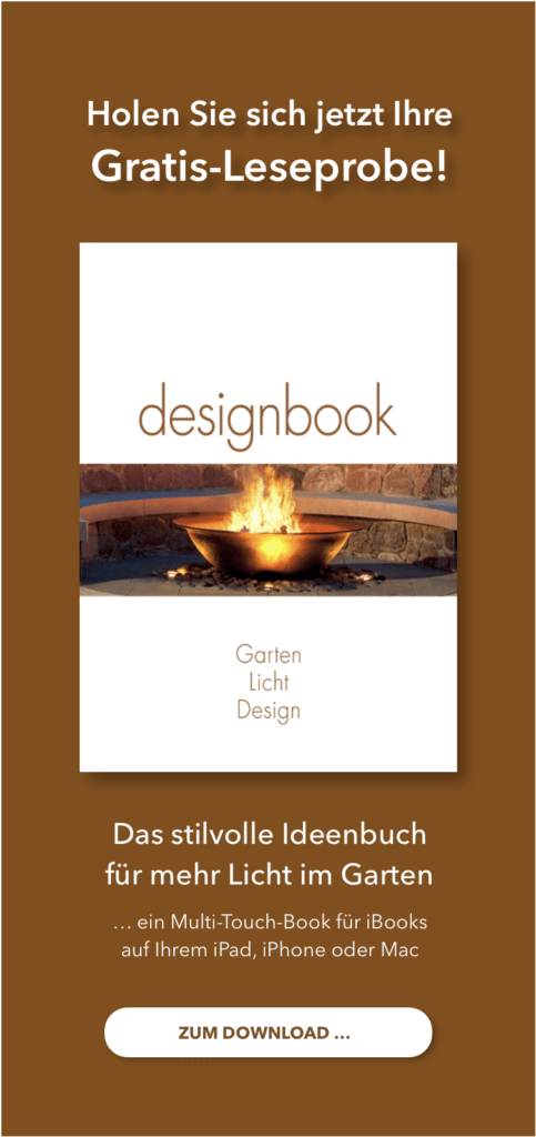 Garten Licht Design Advertorial
