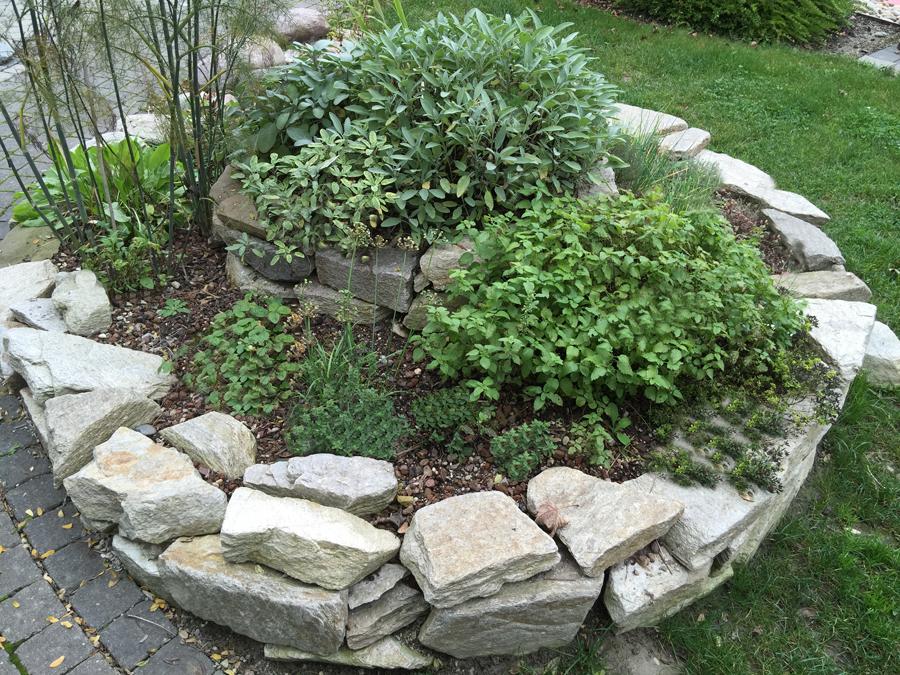 Kräuterspirale © GartenAkademie.com