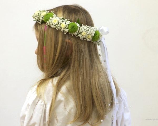Kopfkranz zur Erstkommunion ©meister.pictures