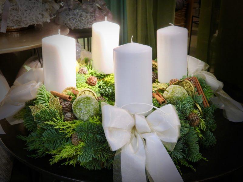 Advent-Ausstellungen bei Gärtnern und Floristen